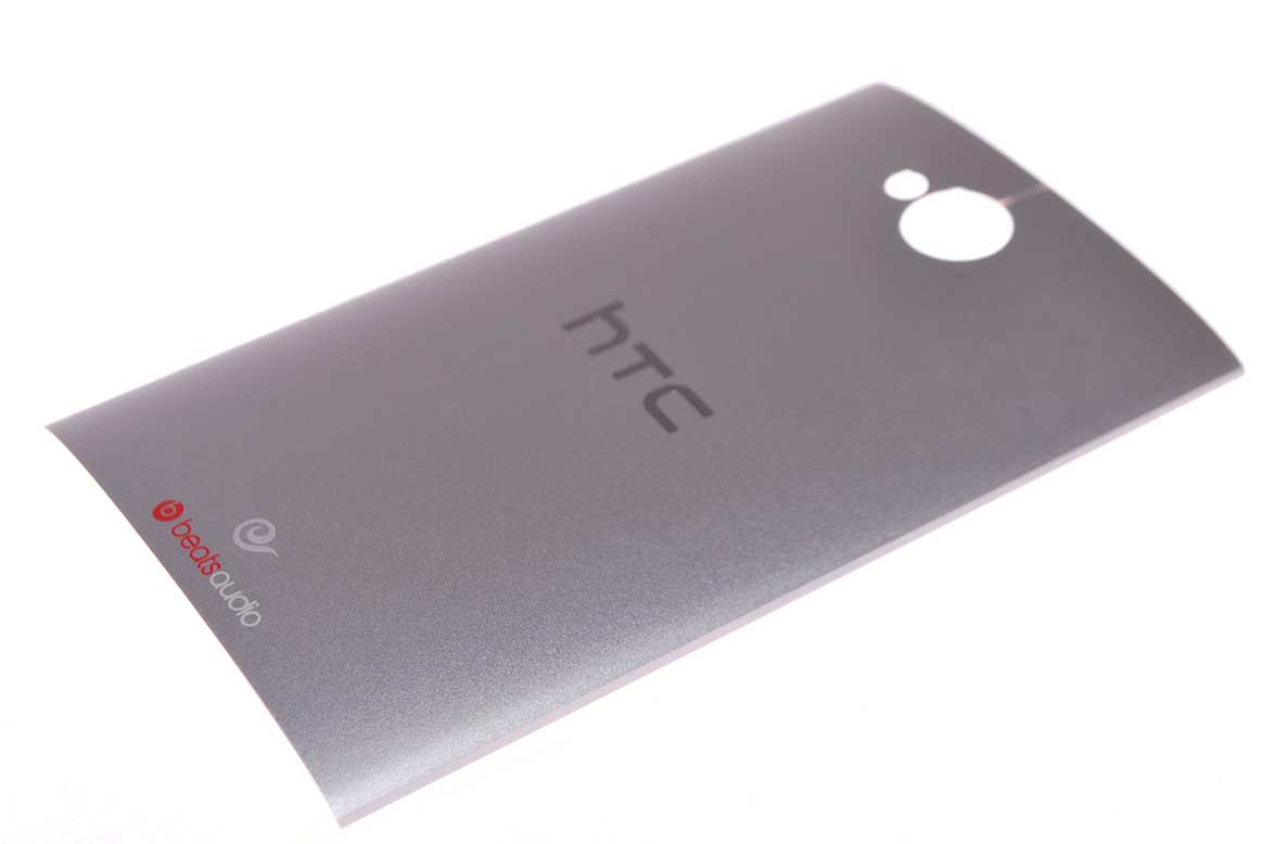 HTC Задняя часть корпуса (крышка аккумулятора) One M7 Dual Sim 802w Silver