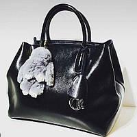 Сумка женская Кожа реплика Dior (Диор) Черная