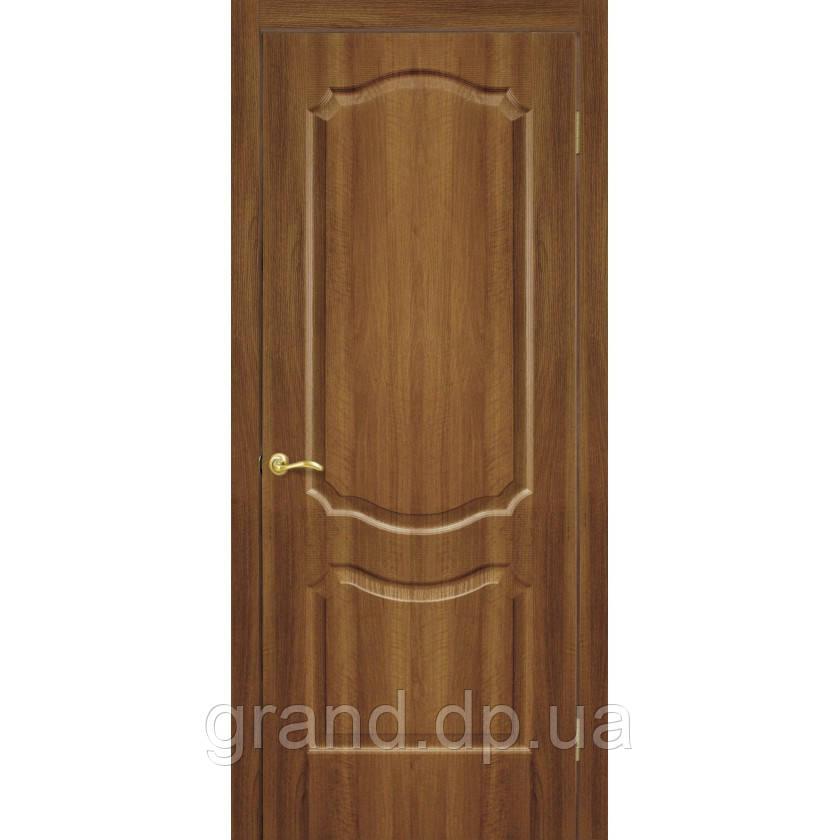 Двери межкомнатные Омис  Прима ПГ ПВХ глухая, цвет ольха европейская