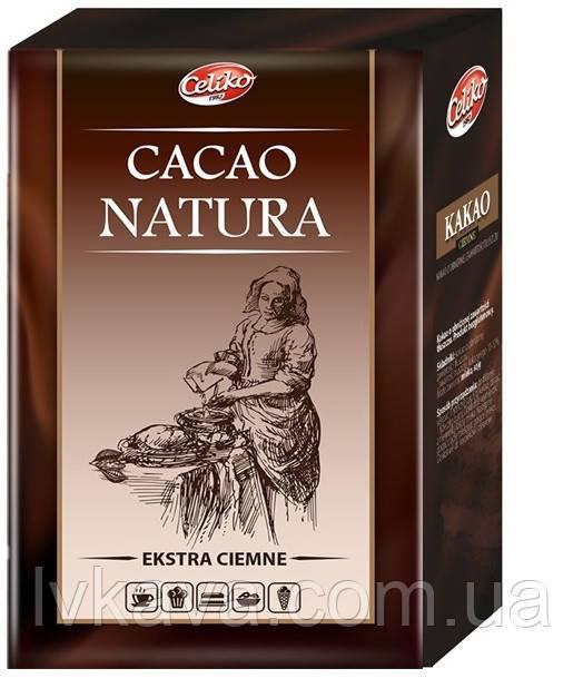 Какао натуральное Natura экстрачерное, 200 гр