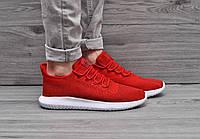 Мужские  кроссовки Adidas Tubular Shadow Knit (Red)