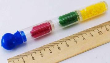 Гидрогель цветной в колбе 18-18 (24 колбы на листе)