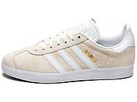 Женские кроссовки Adidas Gazelle Beige