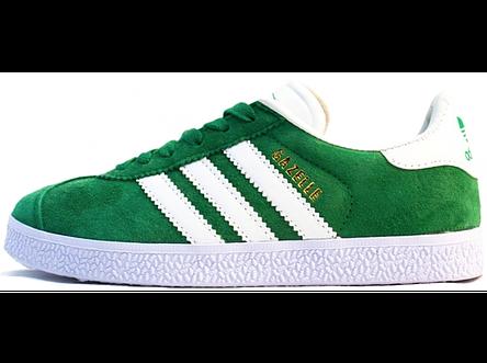 6d58ebd4 Мужские кроссовки Adidas Gazelle OG Green (Адидас Газели, зеленые), фото 2