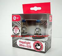 Автомобильные лампы General Electric HB3 MEGALIGHT ULTRA +120% 12V 60W P20d - 2шт (Венгрия)