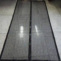 Антимоскитная штора сетка Magic Mesh (черная)