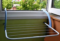 Сушка для белья на батарею 3 м. синяя Германия