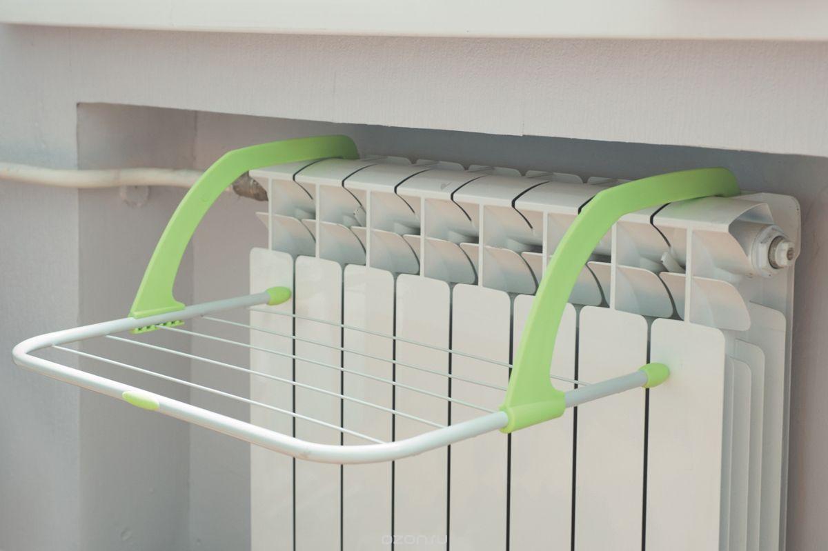 Сушка для белья на батарею 3 м. зеленная Германия - Интернет магазин «Юлиус» в Полтаве