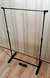 Стійка для тремпелей вішалка підлогова для одягу, фото 2