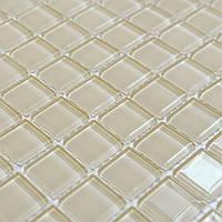 Стеклянная мозаика для стен бежевая Vivacer B051Rv2 Китай