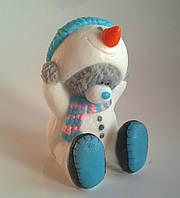 Мыло Тедди в костюме снеговика