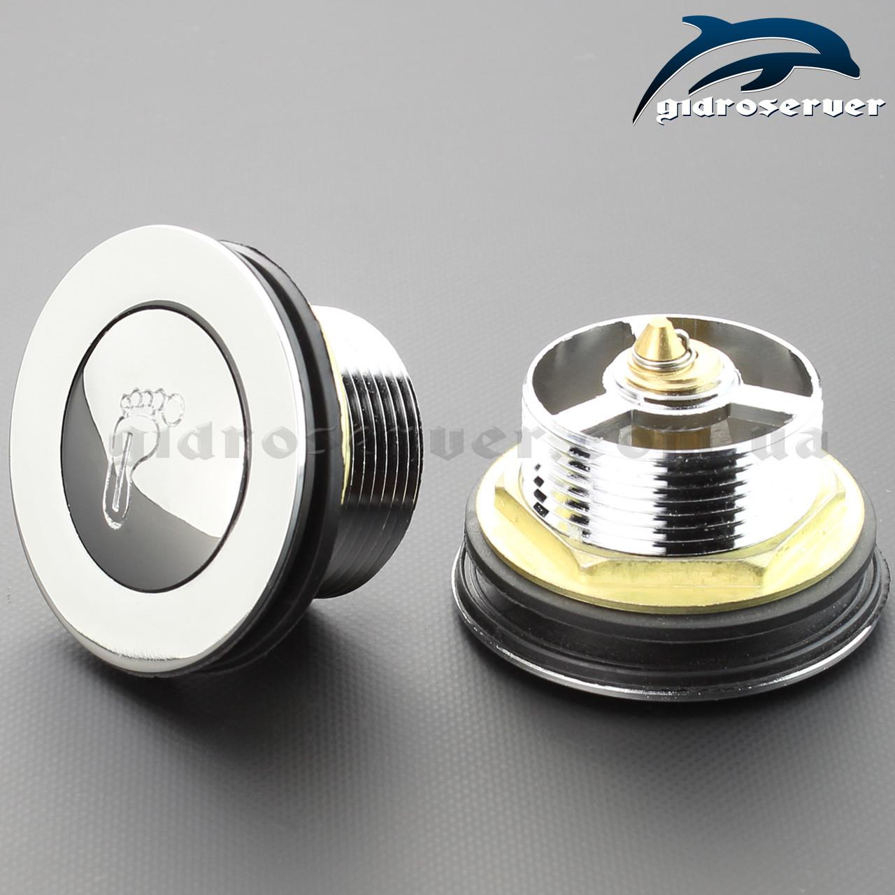 Донний клапан для піддону душової кабіни, гідромасажного боксу DK - 01.