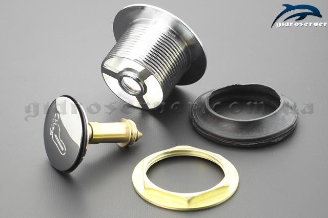 Корпус донного клапана для душової кабіни, гідромасажного боксу DK - 01.