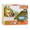 Туристический надувной матрас Intex 68727 со встроенным насосом, 191 х 99 х 20 см, фото 3
