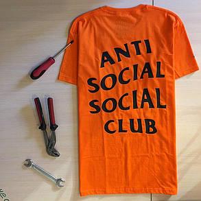 Футболка Undefeated Paranoid Anti Social social club. Все размеры в наличии, фото 2