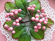 Ягоды гладкие розовые d 8 мм