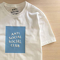 Футболка A.S.S.C. Мужская белая Anti Social social club