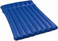 Двуспальный надувной кемпинговый матрас Bestway 67016 203 х 147 х 22 см, фото 1