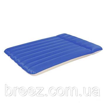Двуспальный надувной кемпинговый матрас Bestway 67016 203 х 147 х 22 см, фото 2