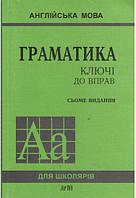 """Грамматика ключи к упражнениям Голицынского """"Арий"""" (укр.)"""