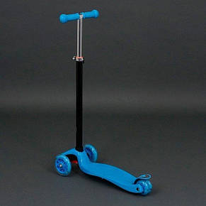 Детский трехколесный самокат Best Scooter Maxi 466-113 голубой, фото 2