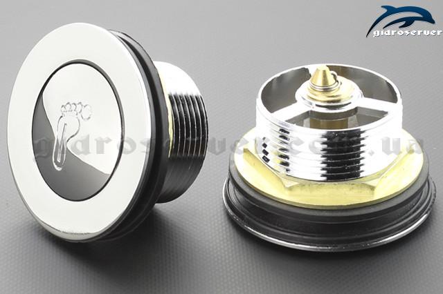 Запорная арматура для поддонов душевых кабин, гидробоксов донный клапан DK - 01.