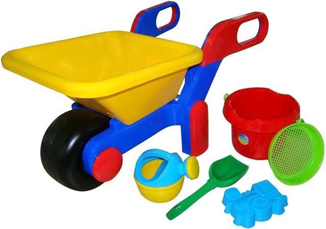 Іграшки для піску і води, дитячий транспорт
