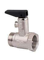 Предохранительный клапан для водонагревателя Ду 20, Н/В резьба.