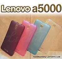 Бампер чехол для lenovo a5000 K3 note накладка