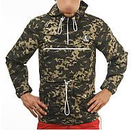 Комуфляжный Анорак,ветровка,курточка Ястреб