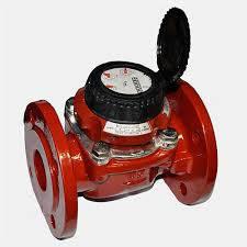 Счетчик воды (водомер) турбинный, тип MWN, Ду-40,Py16, для горячей воды фланцевый, PoWoGaz-Польша