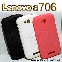 Бампер чехол для lenovo a706 накладка
