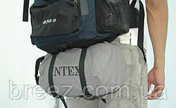 Надувной одноместный матрас Intex 69710 с ручным насосом191 х 76 х 18 см, фото 2