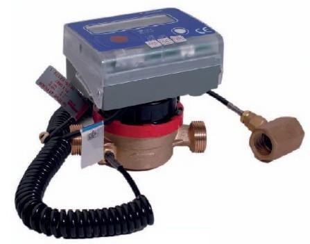 Счетчик тепла компактный (теплосчетчик, тепломер) , тип LQM-III-K, Ду-25,Py16, Q=3,5 м3/час, муфтовый - С-Арматура в Киеве