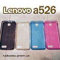 Бампер чехол для lenovo a526 накладка