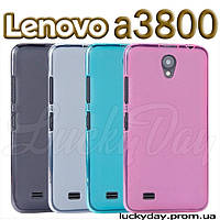 Бампер чехол для lenovo a3800 a3600 a3800d накладка