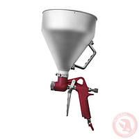 Штукатурный распылитель, три форсунки 4,6,8 мм, В/Б металлический, 6000 мл, 3-6 b INTERTOOL PT-0401