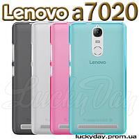 Бампер чехол для lenovo a7020 vibe K5 note a40 a48 pro накладка