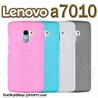 Бампер чехол для lenovo X3 lite a7010 vibe K4 a48 pro накладка