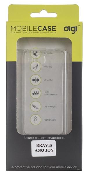 Чехол DiGi BRAVIS A503 JOY - TPU Clean Transparent (6293108)