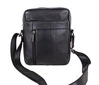 Мужская кожаная сумка черная Vintage TR-9195-1