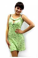 Домашнее платье, ночная сорочка из вискозы с открытым декольте. Розница, опт в Украине. Разные цвета и размеры