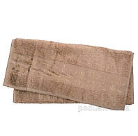 Полотенце махровое Hanibaba бамбук темно-бежевое 70х140 см