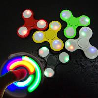 Спиннер светящийся Hand Spinner, игрушка антистресс Хенд Спиннер LED, светодиодный спиннер