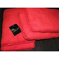 Полотенце для пляжа, бани и сауны 100 х 150 см, Красное, Arya Miranda, Турция