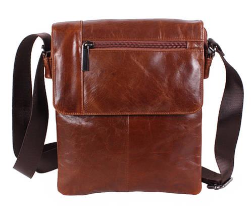 486188541d5a Удобная мужская кожаная сумка коричневая Vintage TR-38032-2 купить в ...