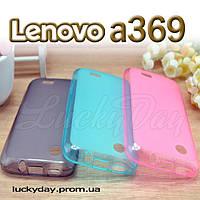 Бампер чехол для lenovo a369 a369i a308t a318t