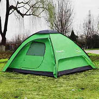 Палатка KingCamp  TUSCANY 3(KT3039) Green, фото 1