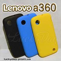 Бампер чехол для lenovo a326 a360 накладка