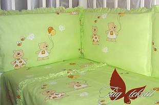 Комплекты в кроватку с простынью на резинке